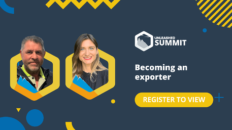 Unleashed Software Summit - June 2021 - Becoming an exporter